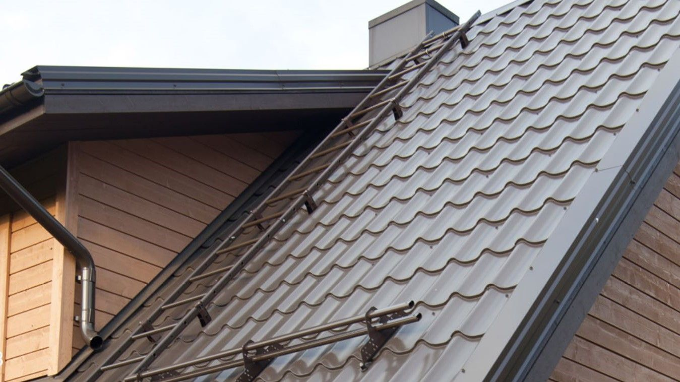 Metal roof maintenance