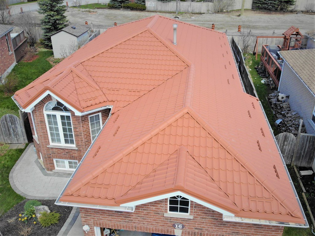 Another metal roof project completed!