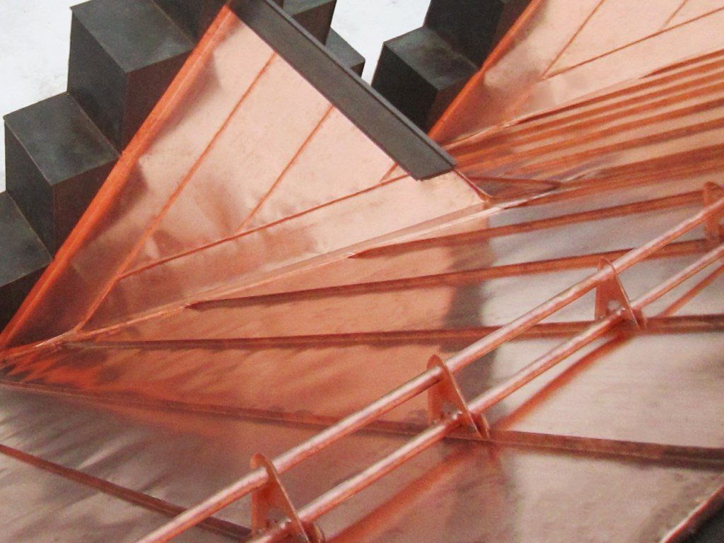 Copper Snow Guards Metal Roof Experts In Ontario Toronto Canada