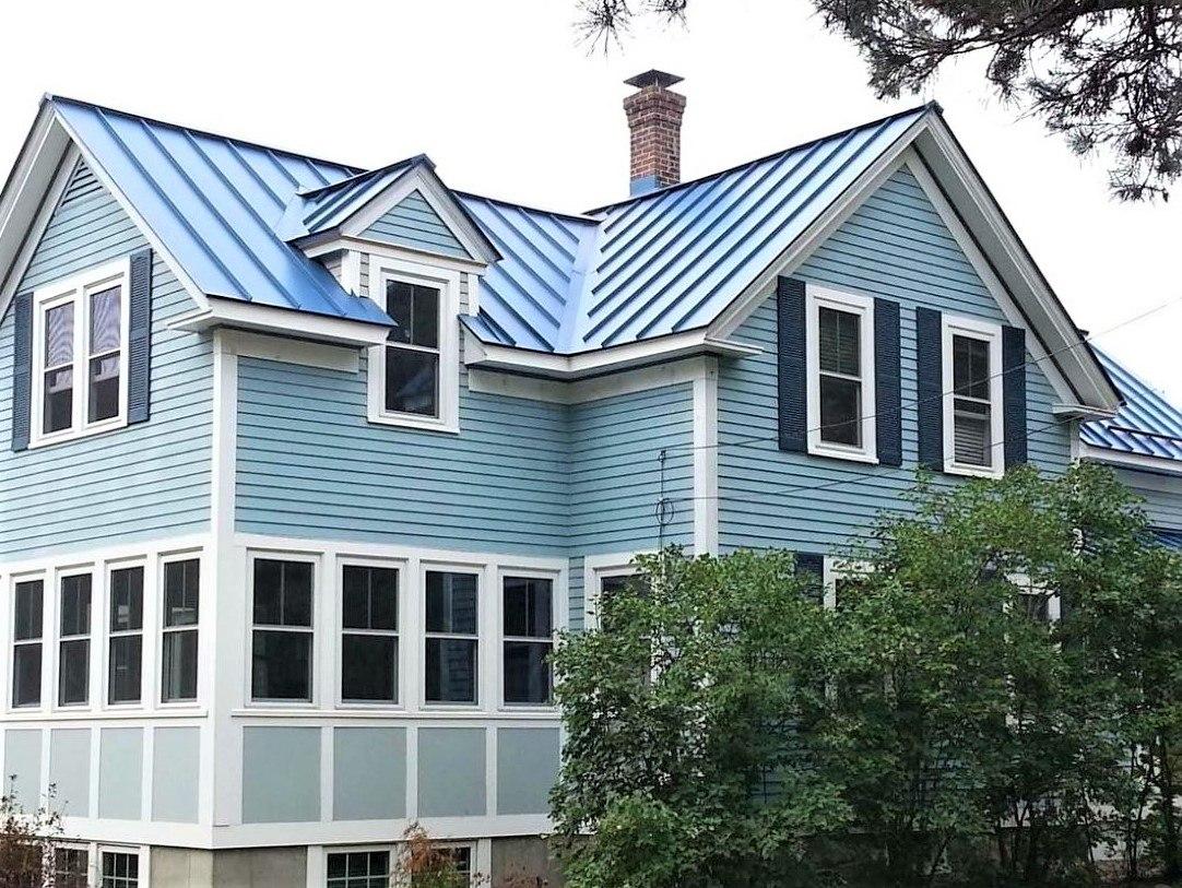 Aluminum standing seam metal roof cost