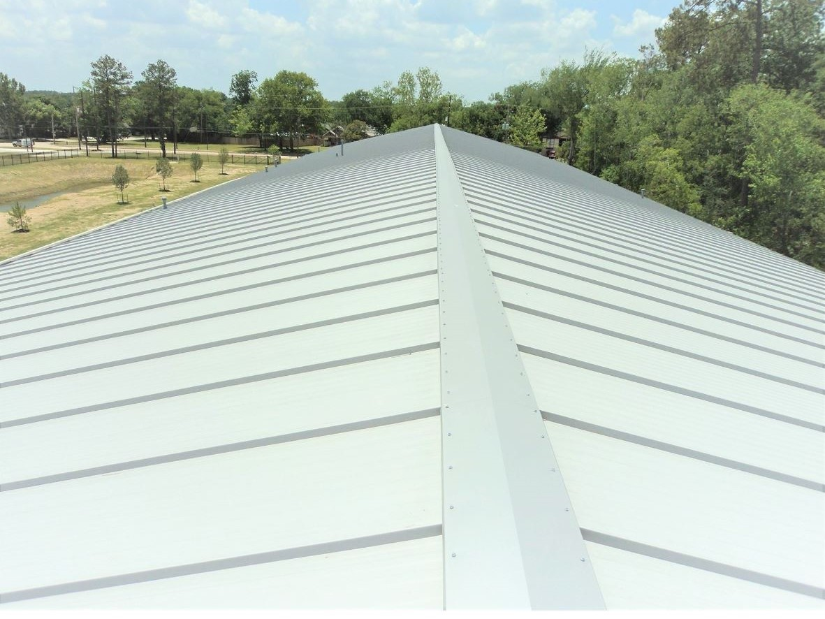 Standing seam insulated roof panels