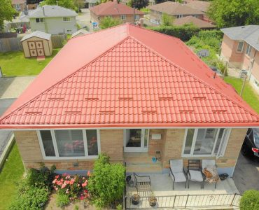 Metal tile roof project. Sheppard Ave. and Viktoria Park Ave.