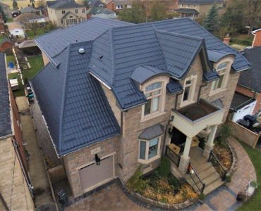 Metal tile roof project. Keel Street and Rutherford Rd.