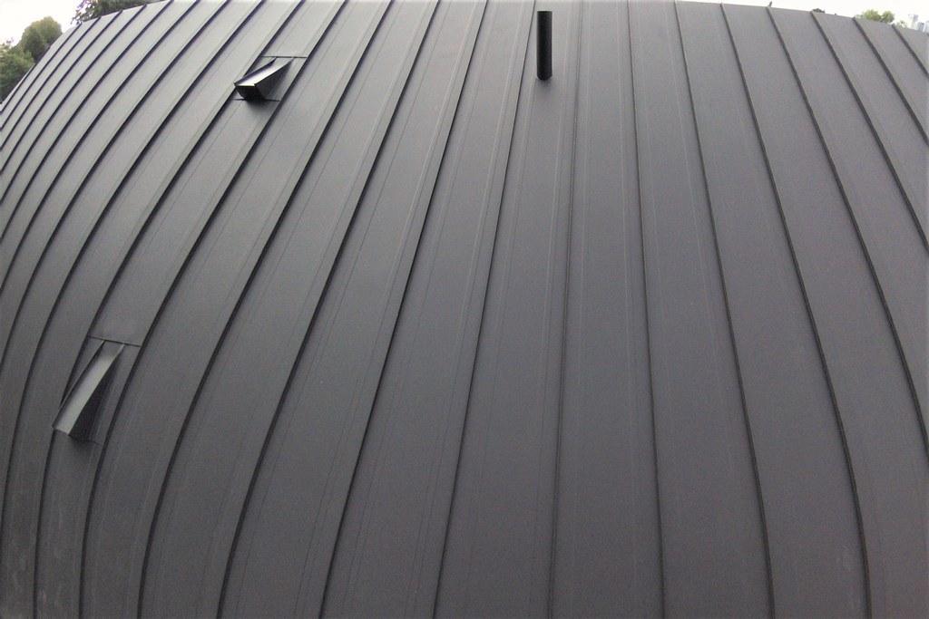Mechanical standing seam roof