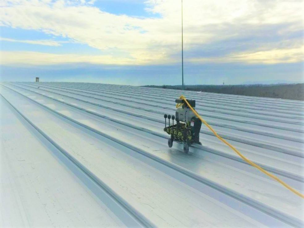 Trapezoidal Standing Seam roof