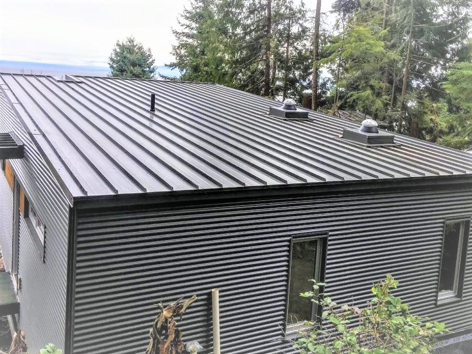Corrugated sheets for metal facade