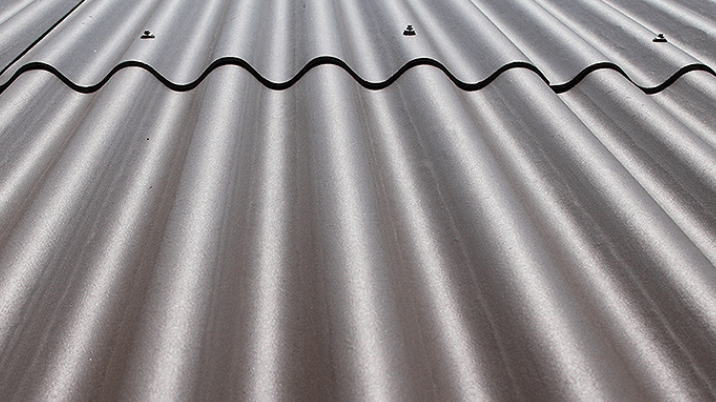 Corrugated metal roof sheet
