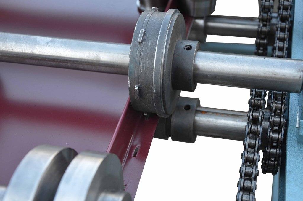 Snap Lock Standing Seam Panel Roll Forming Machine