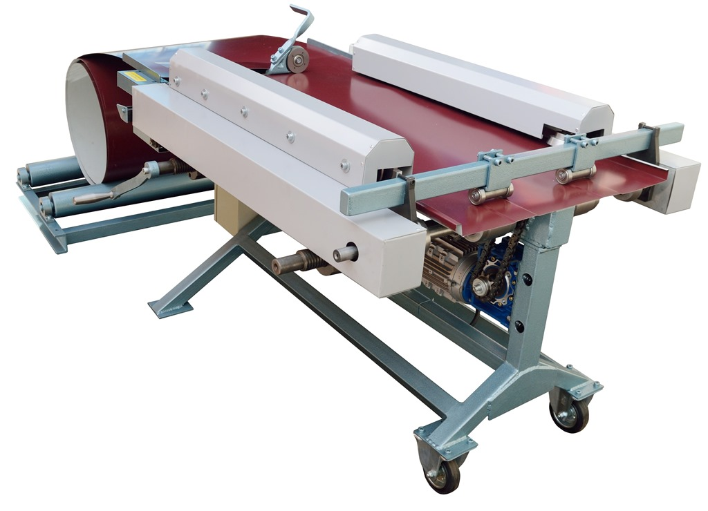 Portable roll forming machine for mechanical standing seam profile