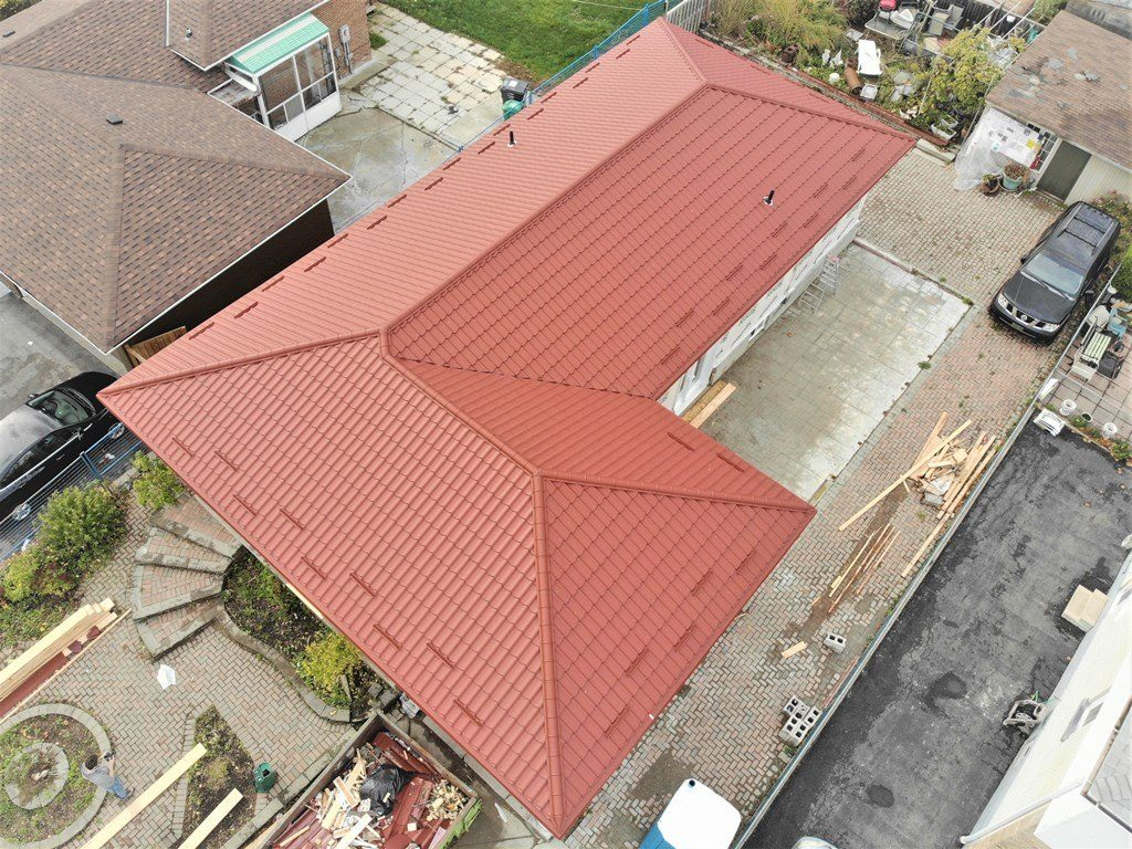 Metal Tile Roof Project Morning Star Dr And Goreway Dr