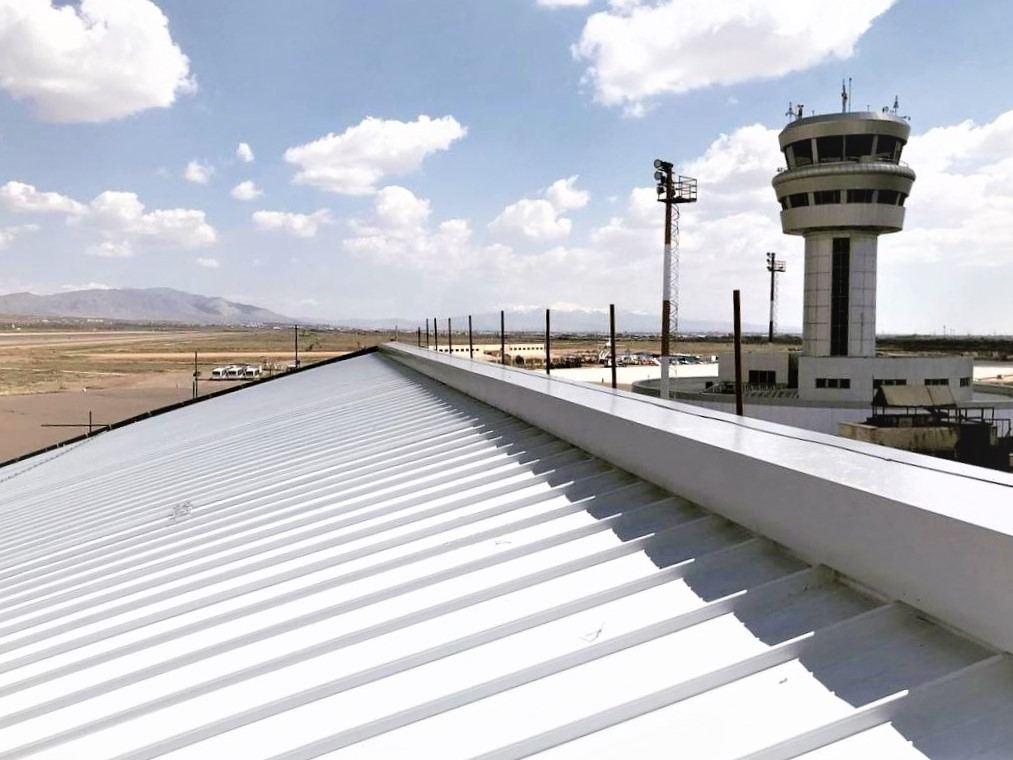 Aluminum metal roof