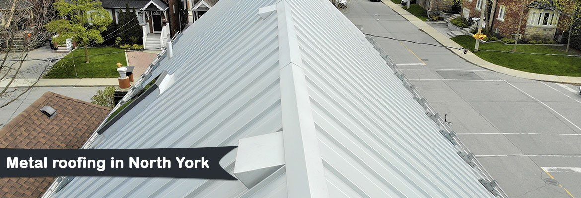 Metal roofing in North York