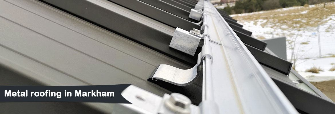 Metal roofing in Markham