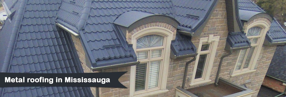 Metal roofing in Mississauga