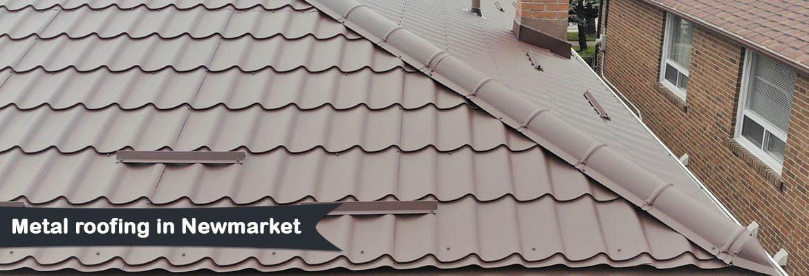 Metal roofing in Newmarket