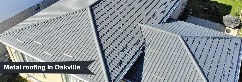 Metal roofing in Oakville