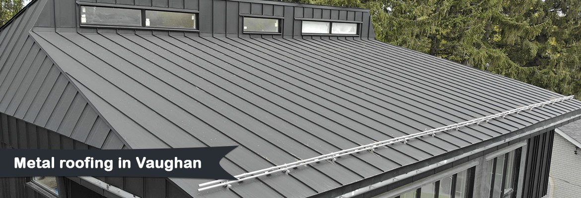 Metal roofing in Vaughan