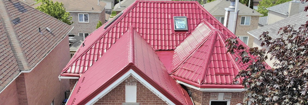 Metal tiles roofing system