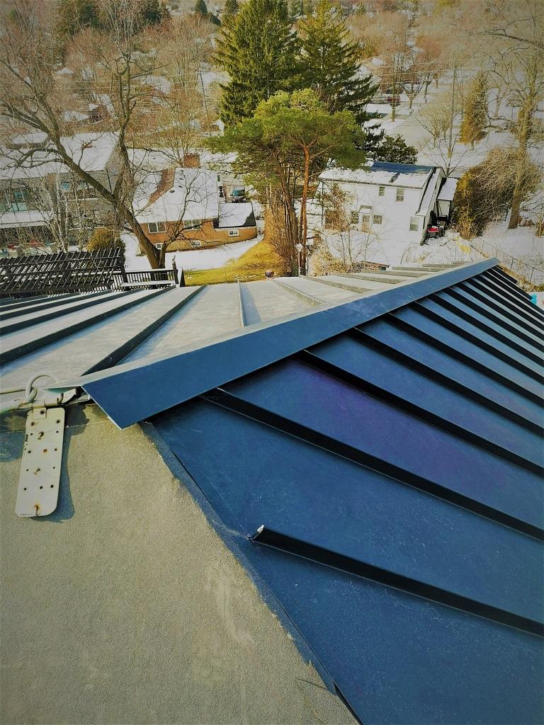 Standing Seam Roof in Scarborough