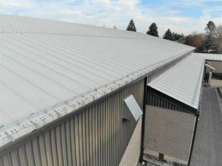 Aluminum Tubular Snowguards for Standing Seam Metal Roof